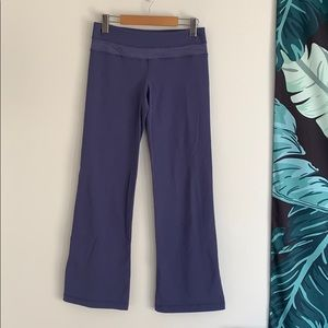 lululemon Groove Pants Reversible Sz 6